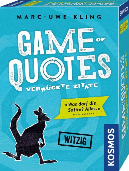 Game of Quotes Verrückte Zitate