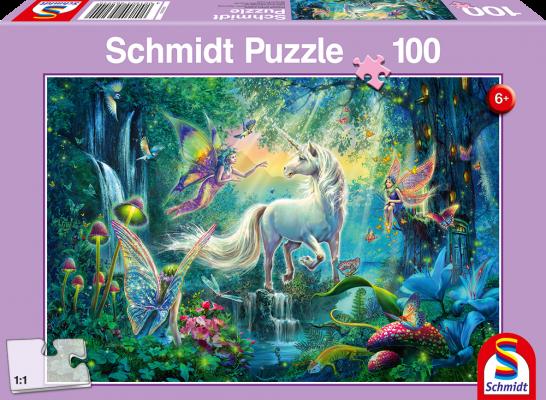 Puzzle: Im Land der Fabelwesen, 100 Teile
