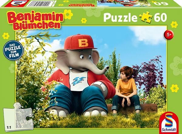 Puzzle: Puzzle zum Film, Benjamin und Otto, 60 Teile
