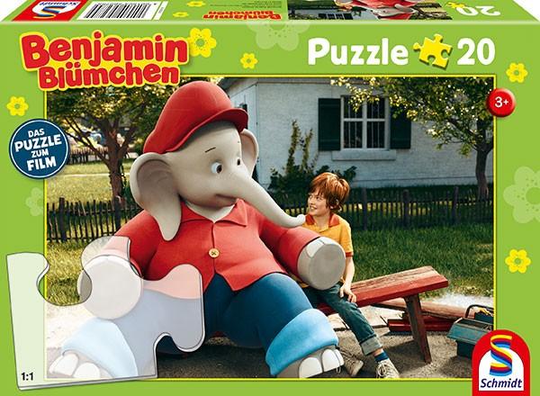 Puzzle: zum Film, Ferien im Zoo,20 Teile