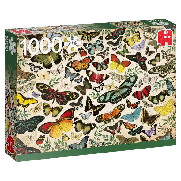 Premium Collection – Schmetterlingsposter (1000 Teile)