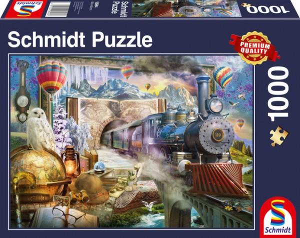Puzzle: Magische Reise, 1000Teile
