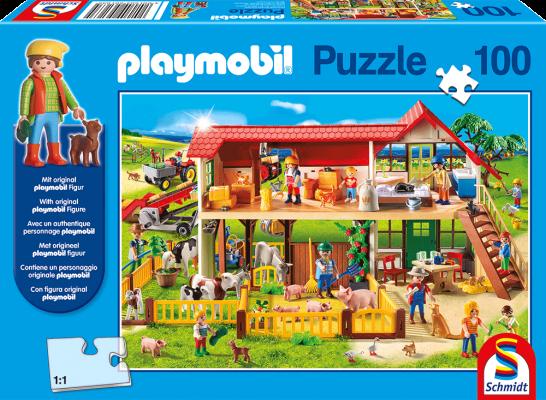 Bauernhof, Playmobil, 100 Teile