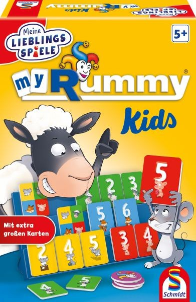 My Rummy Junior, Ueberarbeitun