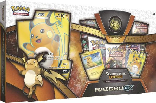 Pokemon SM0 3.5 Raichu-GX Box - Kostenloser Versand
