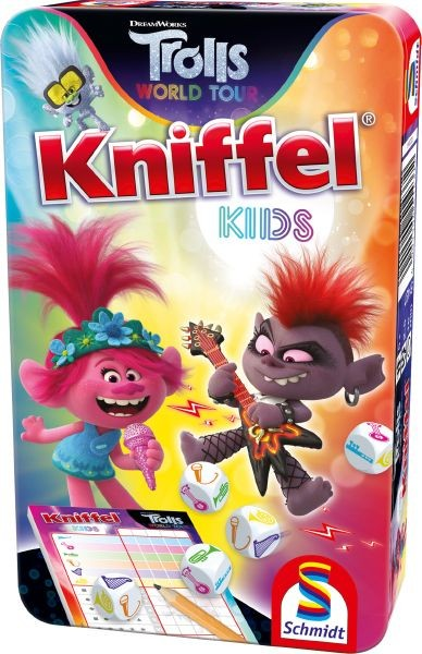 Trolls; Kniffel® Kids - NEU