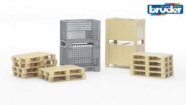 Bruder 02415 Logistik-Set