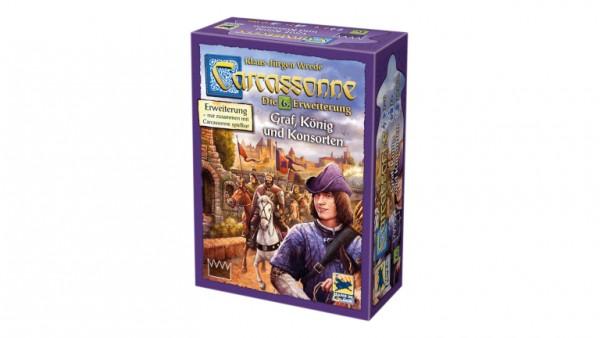 Carcassonne, Graf, Koenig Und Erweierung 6