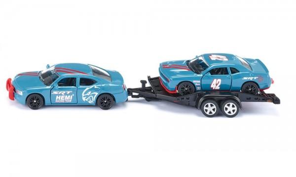 Siku 2556 Dodge Charger mit Dodge Challenger SRT Racing