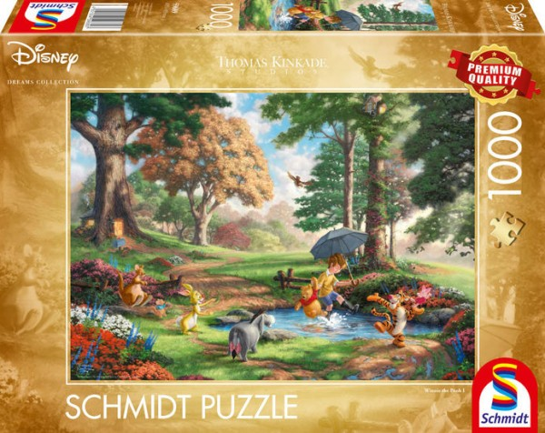 Puzzle: Disney; Winnie The Pooh, 1000Teile